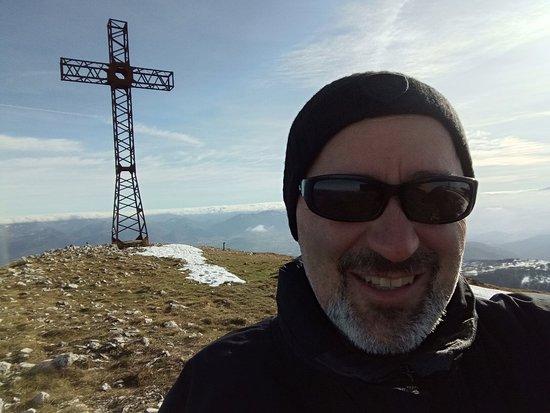 Monte San Vicino : In cima al monte