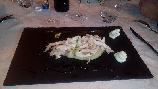Capriano del Colle, Italija: insalata di seppie