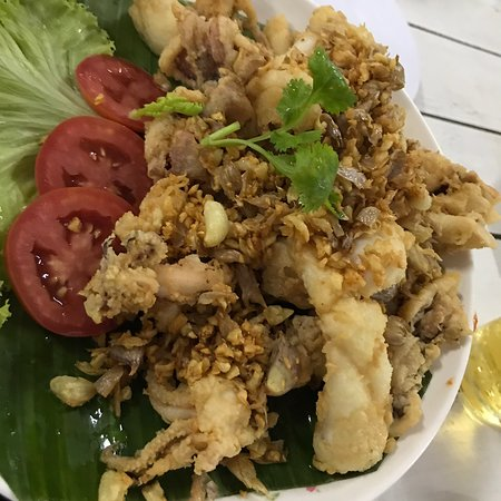 Krua Ban Kru: Great dinner with local seafood.