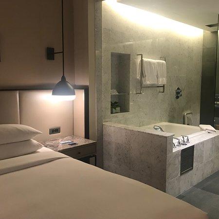 Modern design and spacious toilet