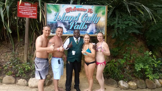 Shrimpy's Tours and Transfer: Island Gully Fall , Ocho Rios with Shrimpystours