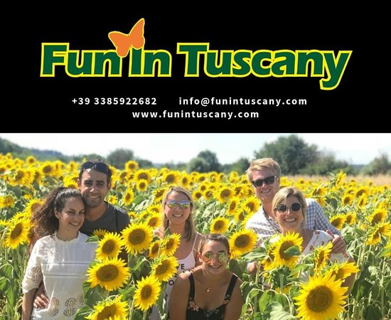 Fun in Tuscany