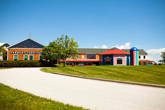 Shelburne, VT: When you turn into our driveway, you are greeted by a wide open campus that stretches for acres. As you approach the front of our building, you are welcomed by maple trees, picnic tables, Adirondack chairs and our signature rainbow-colored silo and timber frame style-building.