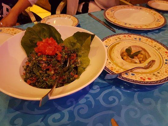 Very nice Lebanese food