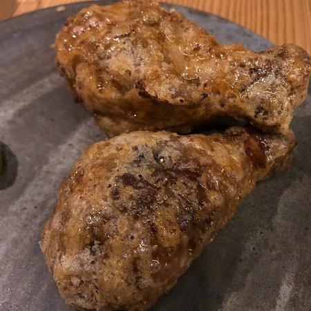 Momofuku Ko: chicken (cold)