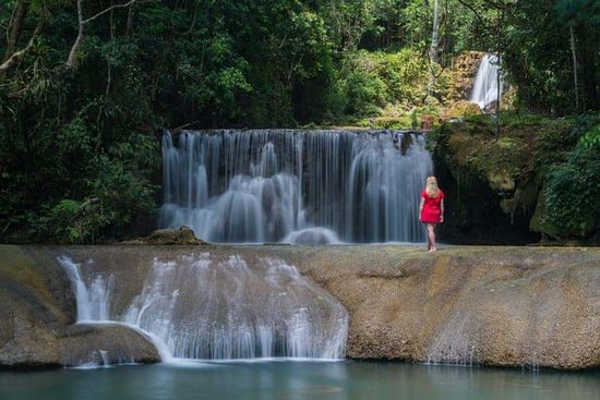Saint Elizabeth Parish, Jamaica: YS Waterfall Many people visit Dunns River Falls in Jamaica, but the lesser visited YS Waterfall is beautiful and if you go at the right time, you may have it all to yourself!