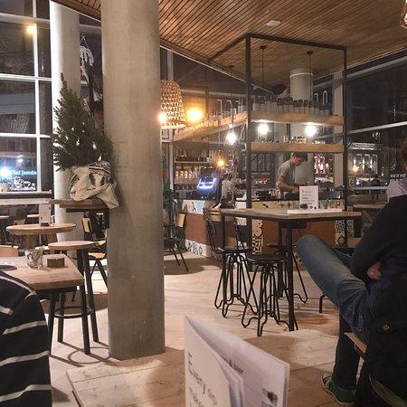 New interior of Coffee Break