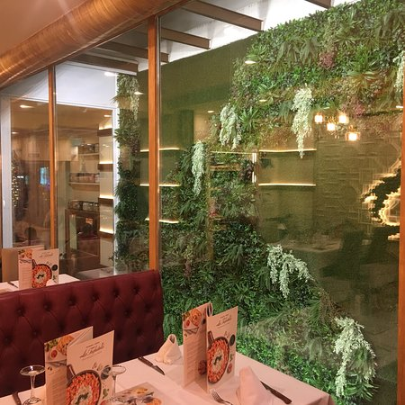 Servicio y comida excelente en un local magníficamente decorado