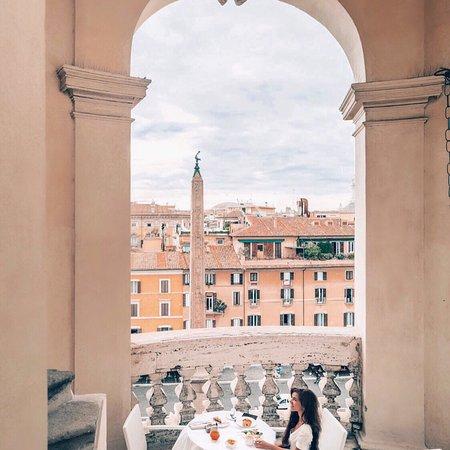 Rooftop Picture Of Terrazza Borromini Rome Tripadvisor