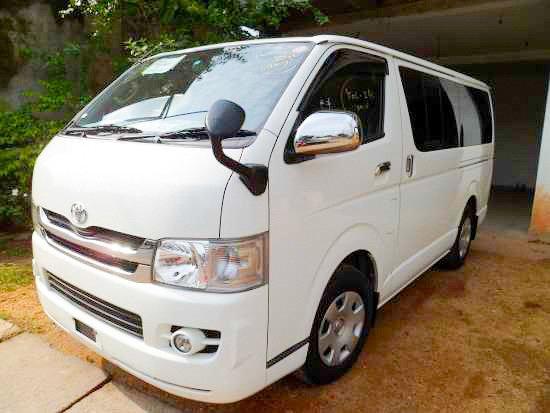 Udawalawa, Sri Lanka: Our Van