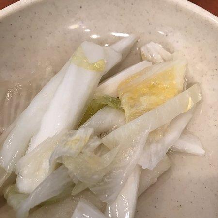 Hand cut noodles and dumplings