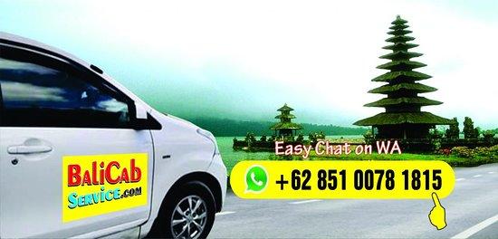 Tuban, Indonesia: Bali Cab Service