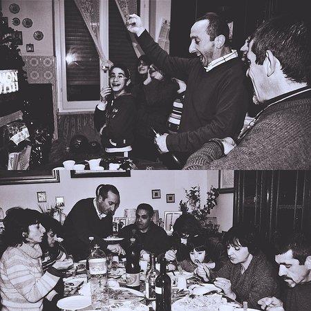 在薩丁尼亞,每一年的開始也是和親朋好友團聚的重要日子;來看看Pino和他的家人們是如何慶祝?  😀 家人們,大家又是如何安排元旦假期的呢?  ❤️ 分享道地家鄉料理的心與堅持 ❤️ # Sardinia in Taipei - Pino's『 Domo De Sardegna 』Ristorante Sardo-Italiano # 『薩丁尼亞的家』來自薩丁尼亞,台灣首發正宗薩丁尼亞菜單+酒單的義大利餐廳 # 有提供客製化需求 (事先討論) # 吃素可食 ------------------------------------- ☎️ 電話訂位專線:02-2716-5560 🏠 台北市民生東路三段113巷7弄8號 🚙 (公車-民生敦化路口、捷運-中山國中站步行6分鐘) # 每周日固定店休️