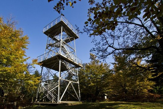 Bielawa, Polen: Wieża widokowa na Kalenicy