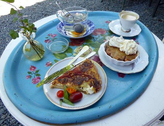 Smedjebacken, Švédsko: Äppelkakan och pajen var alldeles utmärkta