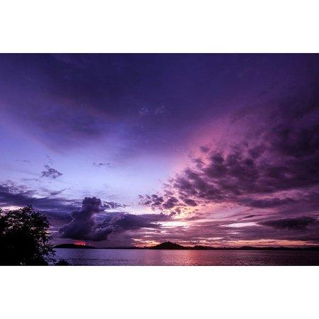 Ampana, Indonesia: Sunrise at Bolilanga Island