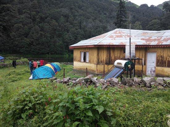 Gulabi kantha Trek is located in yamunotri.  Region :- Uttarakhand Duration :- 4 Days  Grade :- Easy To Moderate  Max Altitude :- 12,000 Ft. Book Now :-  http://www.yamunotriyatra.com/gulabi_kantha_trek.php