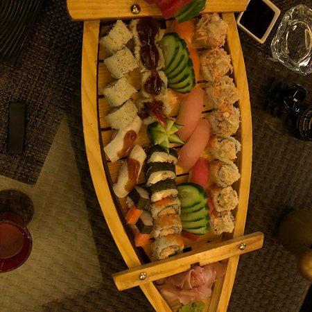 Best sushi in Amman