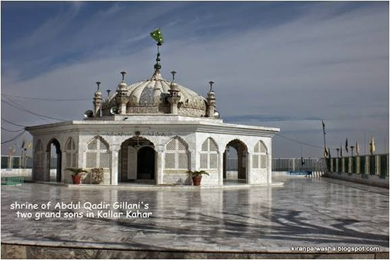 03008094313 The Tomb of Hazrat Hubahu in Kallar Kahar, idealy located on the top of the hill, best with family and friends