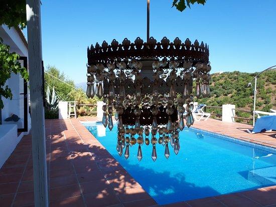 Colmenar, España: Outdoor lamp