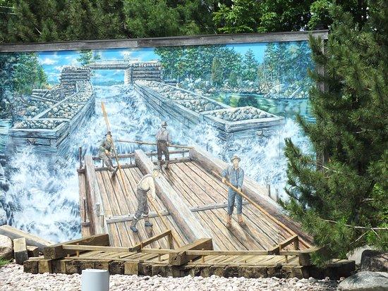 Pembroke, Kanada: Tell-tale of the past