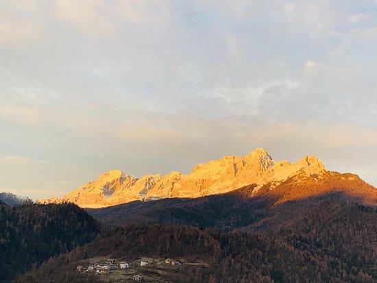 Hotel Villa Imperina: Panorama dalla camera