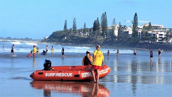 Sunshine Coast Day tours Checking the surf at Alexandra Headlands