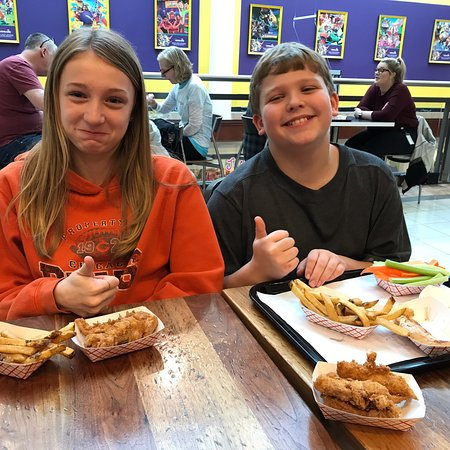 Kids dig tenders. Fresh, all natural, antibiotic-free, buttermilk fried or grilled chicken.