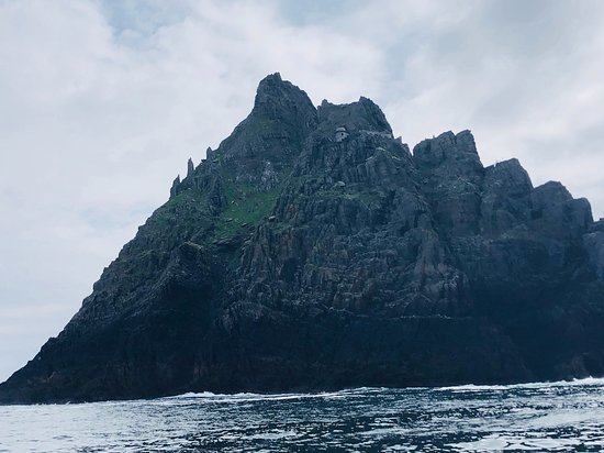 Skellig Michael: Can see one of the buildings