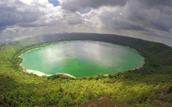 Demokratyczna Republika Konga: creator lake in DR Congo