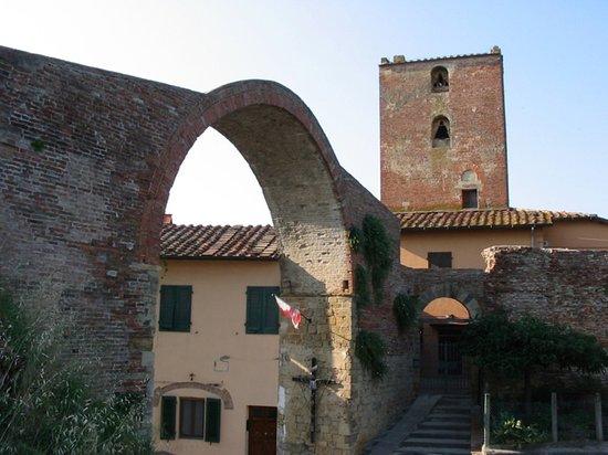 Montopoli in Val d'Arno, Italia: השריד היחיד שנותר מהמבצר