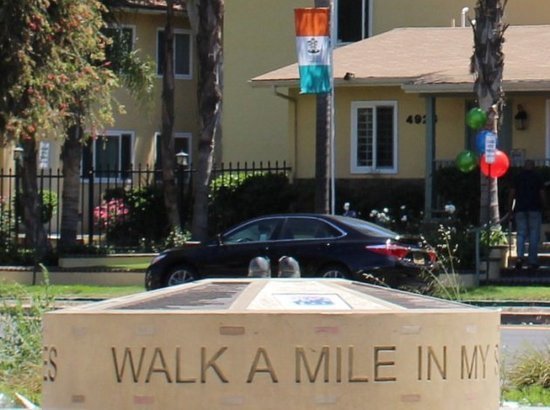 """""""Walk a Mile in My Shoes"""" Civil Rights Memorial"""