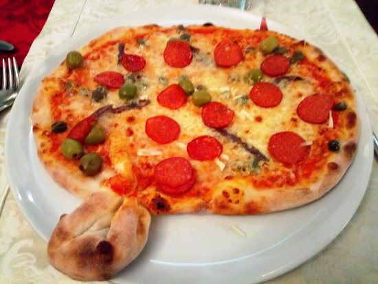 Dillenburg, Niemcy: Die sehr gute Pizza