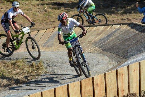 San Lameer, South Africa: Adventure biking