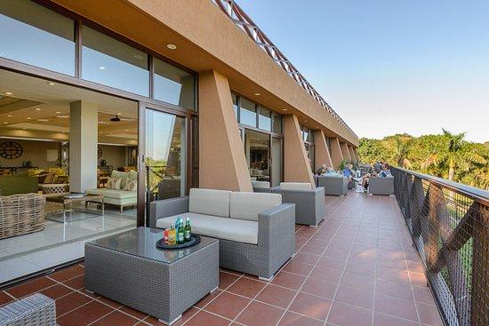 San Lameer, Južna Afrika: Clubhouse terrace