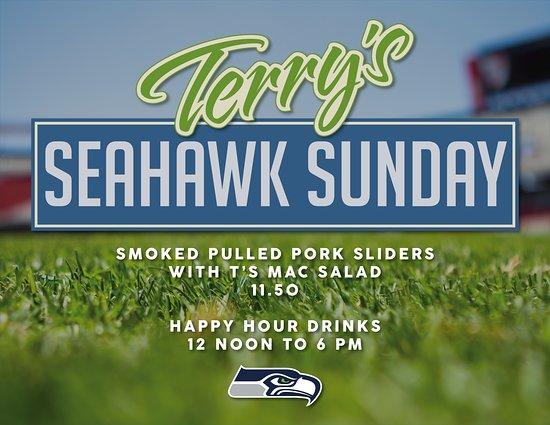 Terry's Kitchen Seahawk Sunday