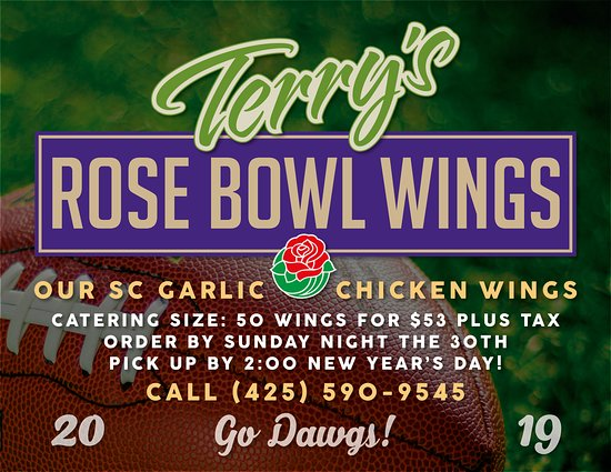 Terry S Kitchen Rose Bowl Game 2019 Wings Picture Of