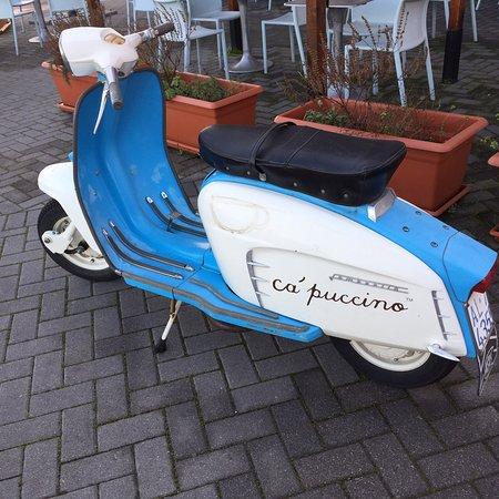 Castel Guelfo di Bologna, Italija: La moto Cà Puccino