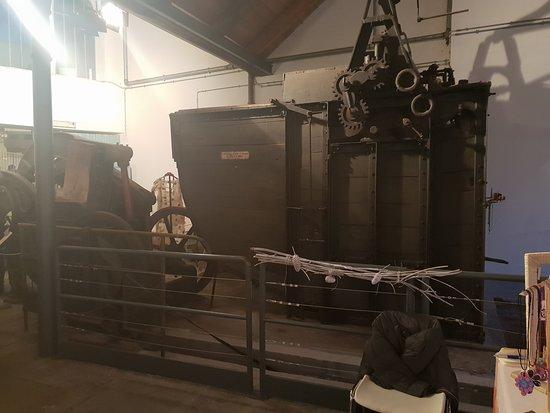 Ecomuseo Feltrificio Crumiere: Macchinario del Feltrificio