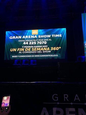 San Francisco de Mostazal, Chile: pre show contest