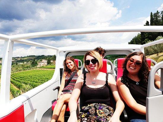 Happy in Tuscany