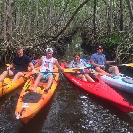 Fun kayaking adventure