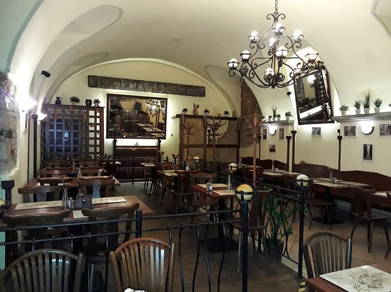 Vaclavka Pizza Restaurant Prague Nove Mesto New Town