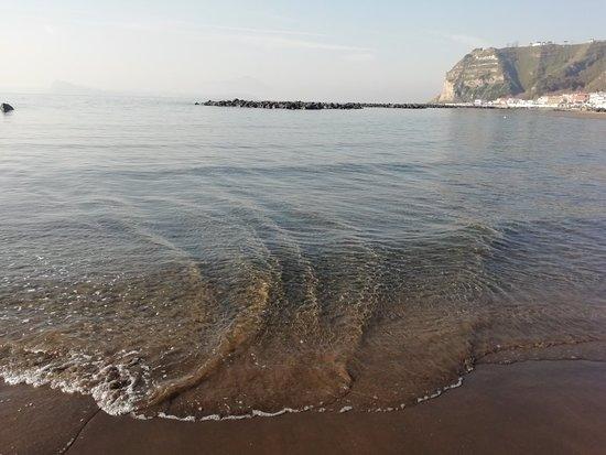 Capo Miseno: Winter sea