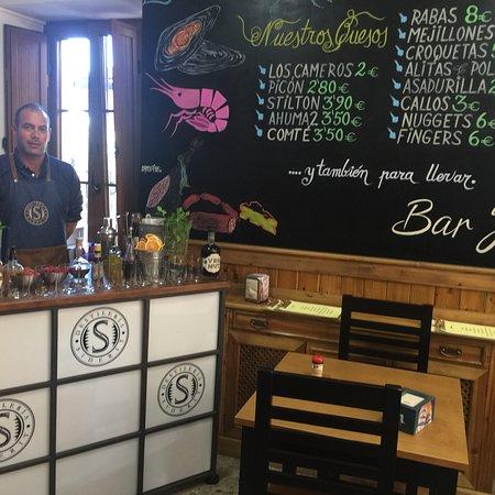 Sancibrián, España: Bar Julia