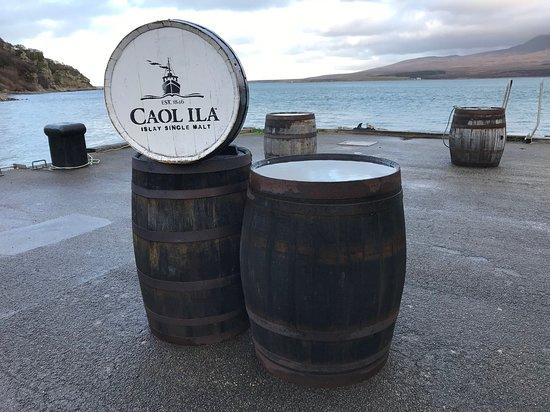 Port Askaig, UK: Wonderful Caol Ila on Islay