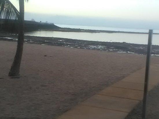 Spiaggia comoda in città