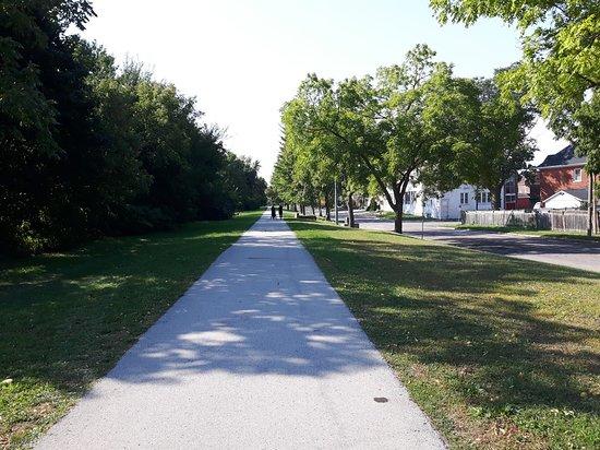 Binational Heritage Peace garden Trail