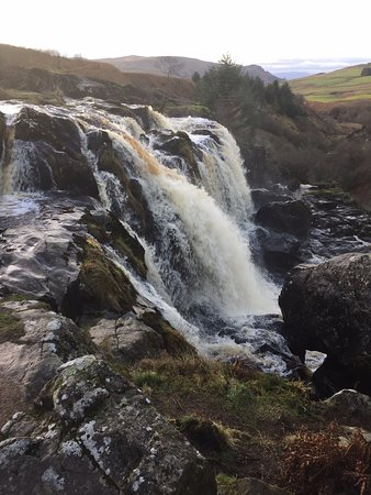Loup of Fintry Falls.