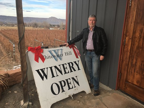 The winery is located in an area of vineyards south of Clifton, but technically in Grand Junction.
